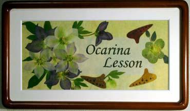 Ocarina Lesson