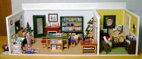 サンタのおもちゃ工房