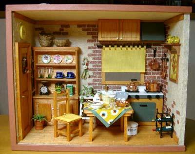 プロヴァンス風キッチン